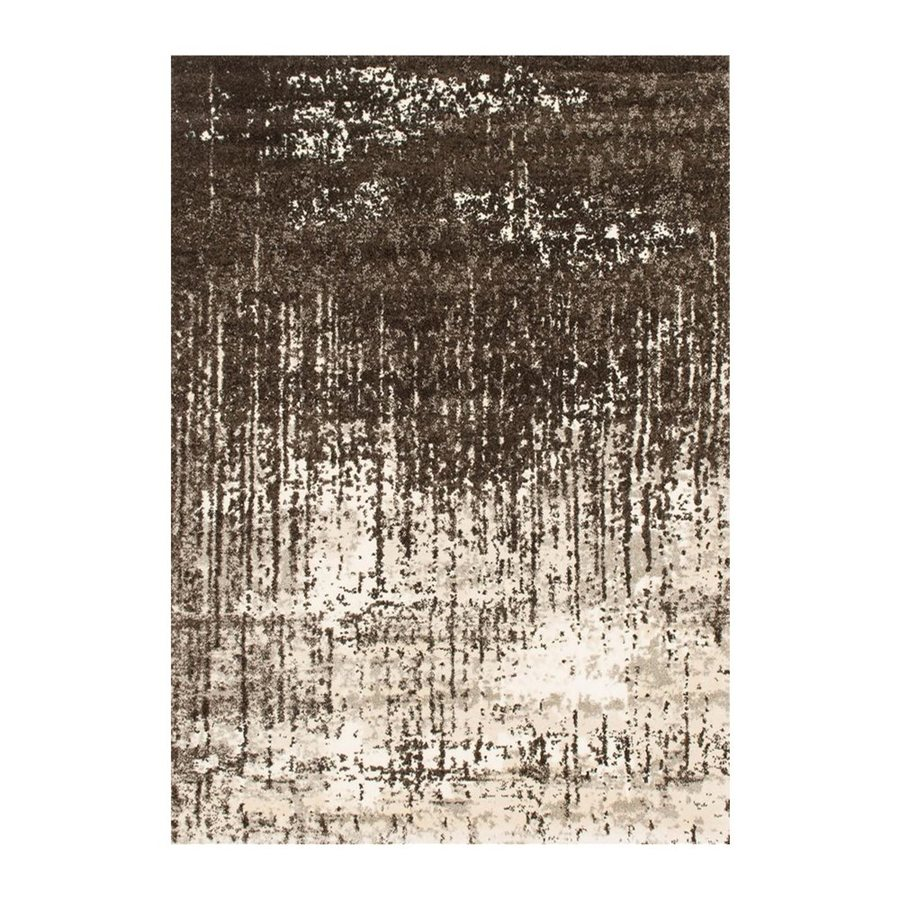 Loloi Viera Brown Rectangular Indoor Machine-made Distressed Area Rug (Common: 9 X 13; Actual: 9.16-ft W x 12.58-ft L)