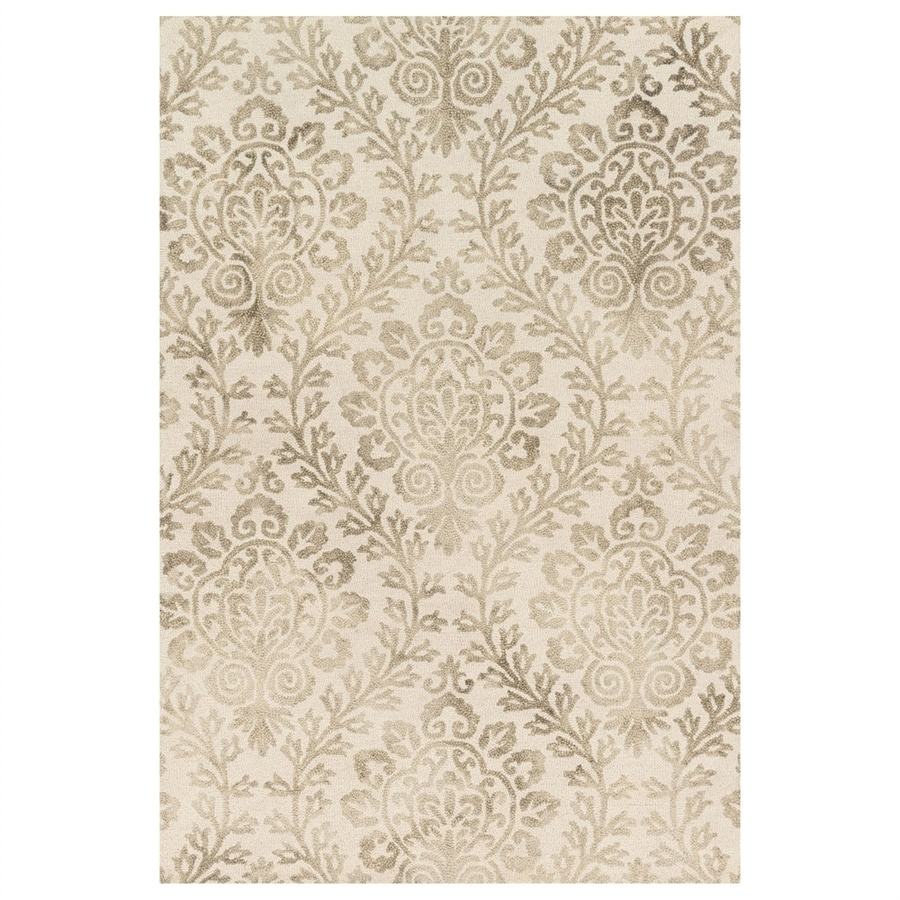 Loloi Viola Stone Rectangular Indoor Machine-made Distressed Area Rug (Common: 5 X 8; Actual: 5-ft W x 7.5-ft L)