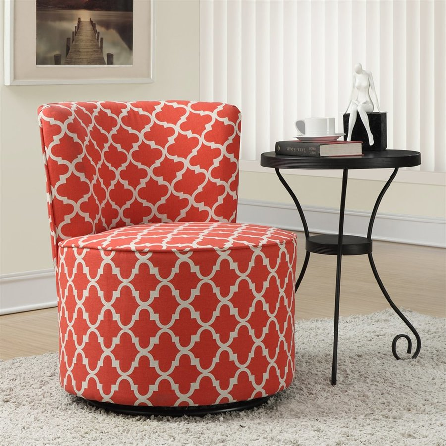 Monarch Specialties Casual Coral Accent Chair