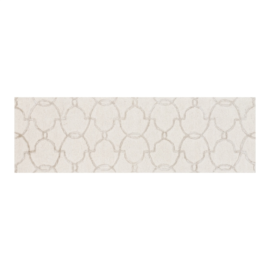 Loloi Panache Ivory/silver Rectangular Indoor Handcrafted Runner (Common: 2 X 7; Actual: 2.25-ft W x 7.5-ft L)