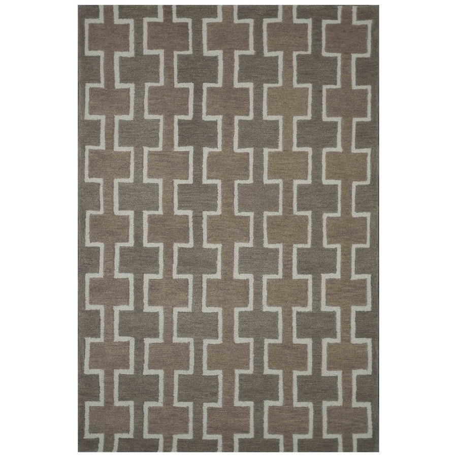 Loloi Weston Beige Rectangular Indoor Handcrafted Area Rug (Common: 4 X 6; Actual: 3.5-ft W x 5.5-ft L)