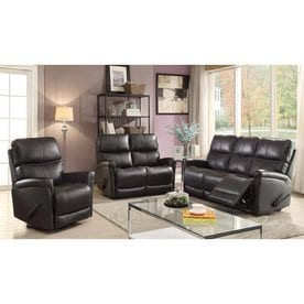 Sunset Trading 3 Piece Easy Living Charcoal Grey Living Room Set Part 70