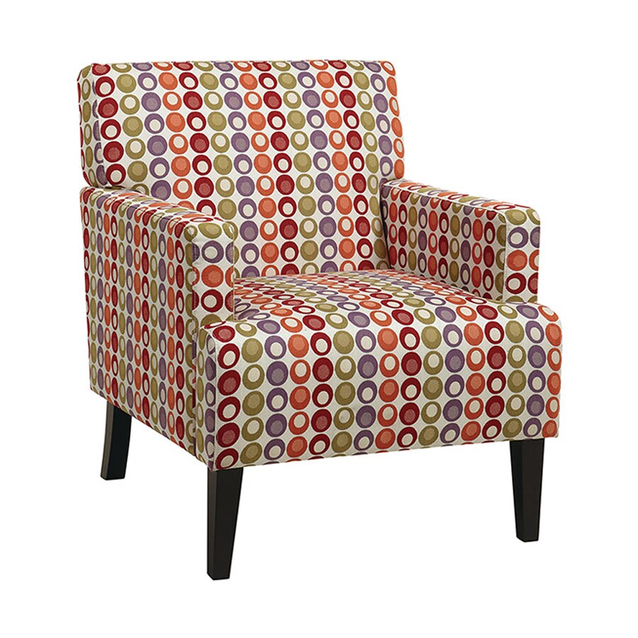 Office Star Carrington Eclectic Flair Confetti Club Chair
