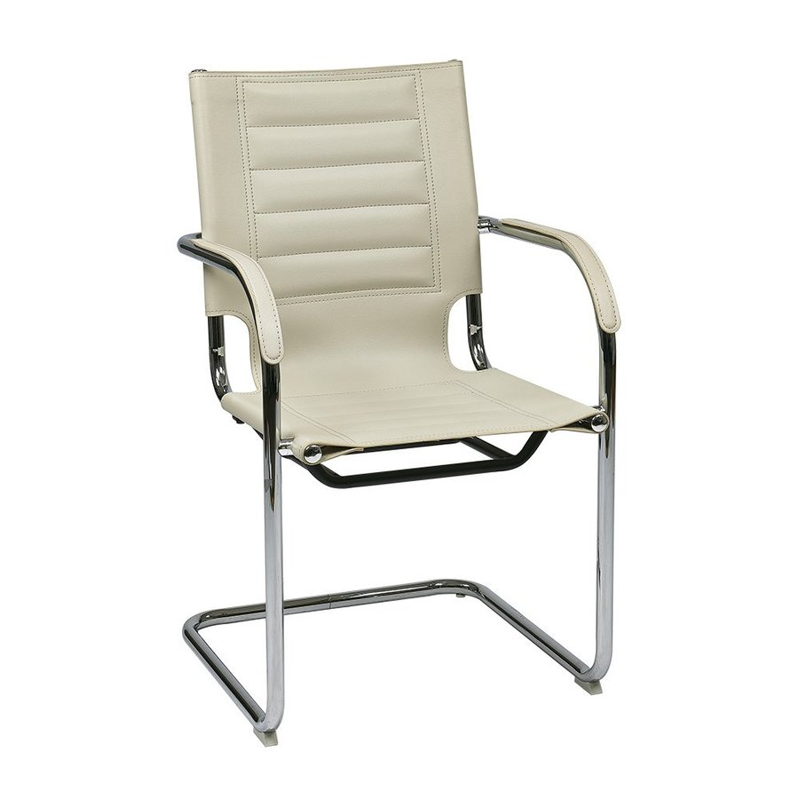 Office Star 1-Piece Trinidad Cream Reception Chair