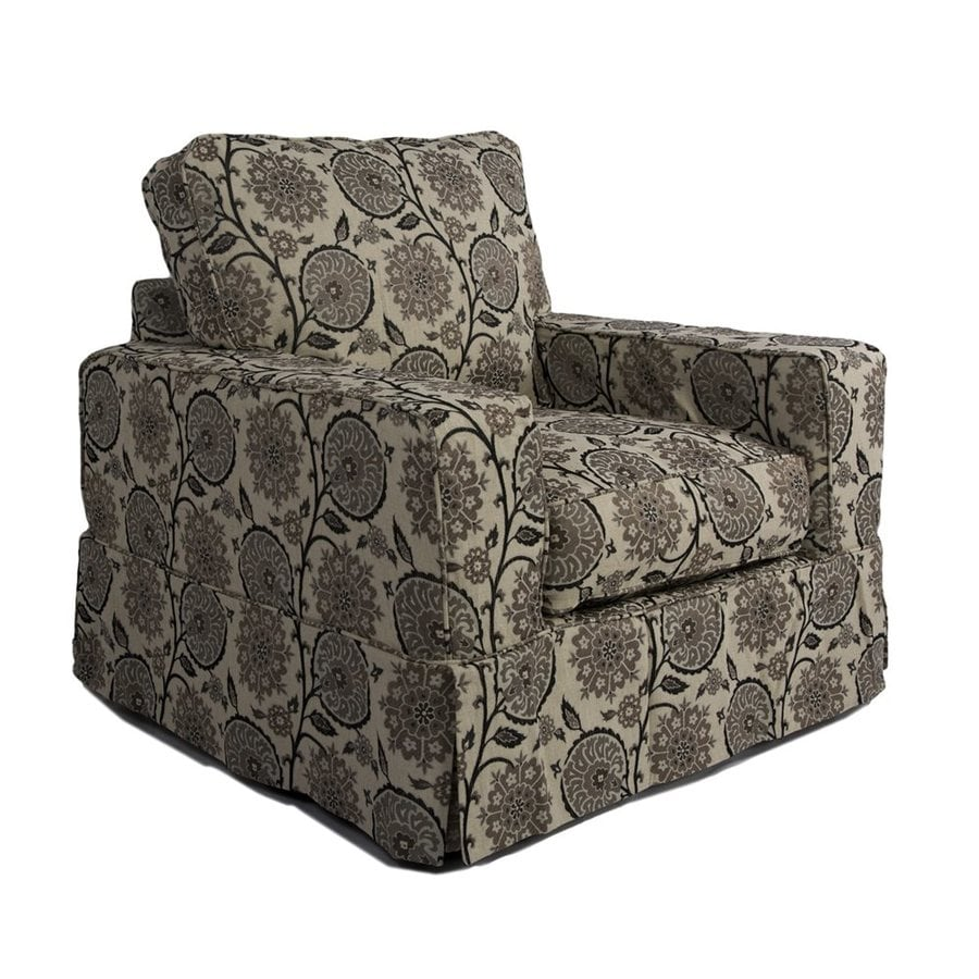 Sunset Trading Americana Casual Contemporary Floral Club Chair