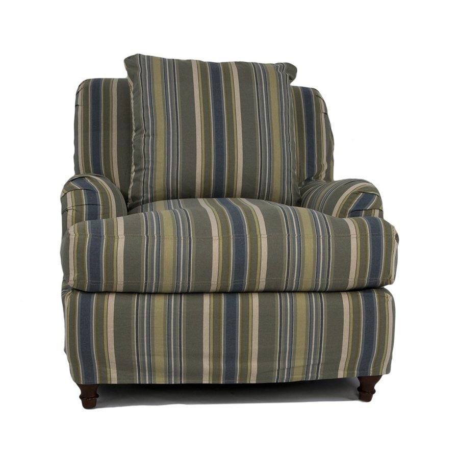 Sunset Trading Seacoast Casual Nantucket Stripe Club Chair