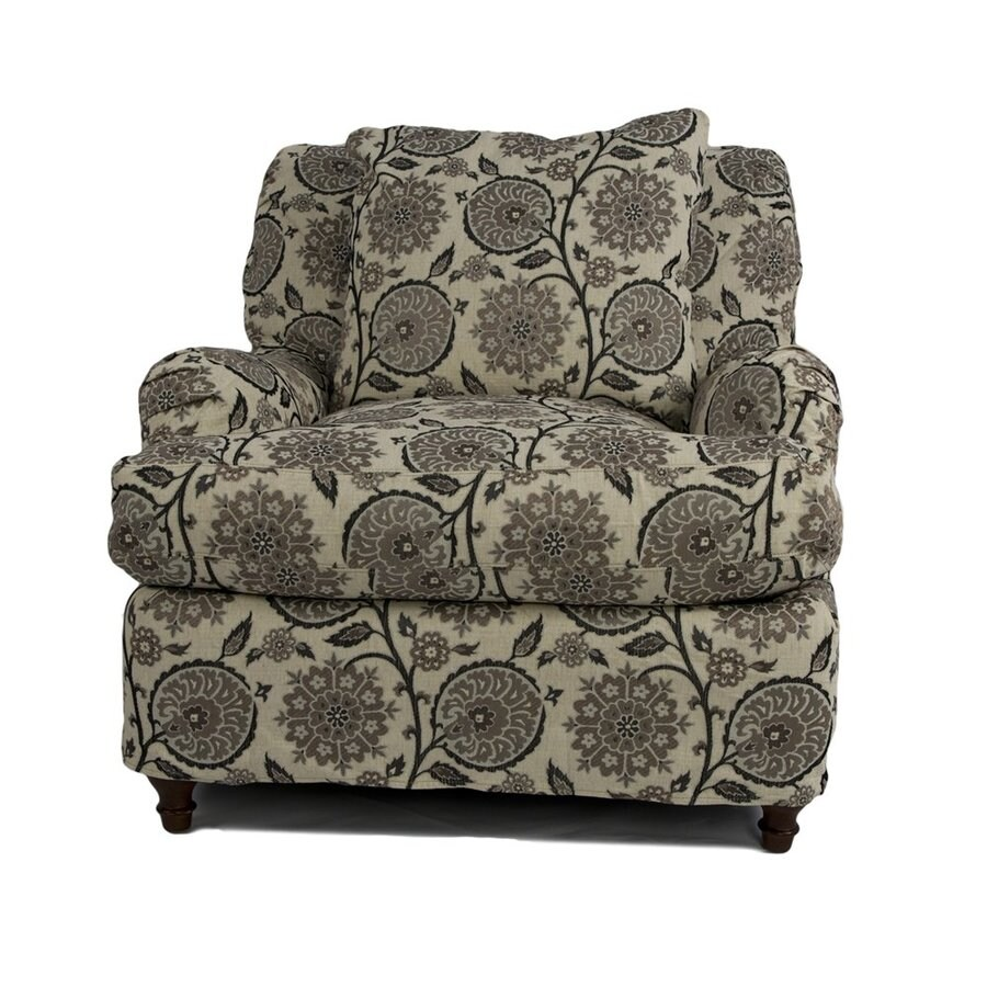 Sunset Trading Seacoast Casual Contemporary Floral Club Chair