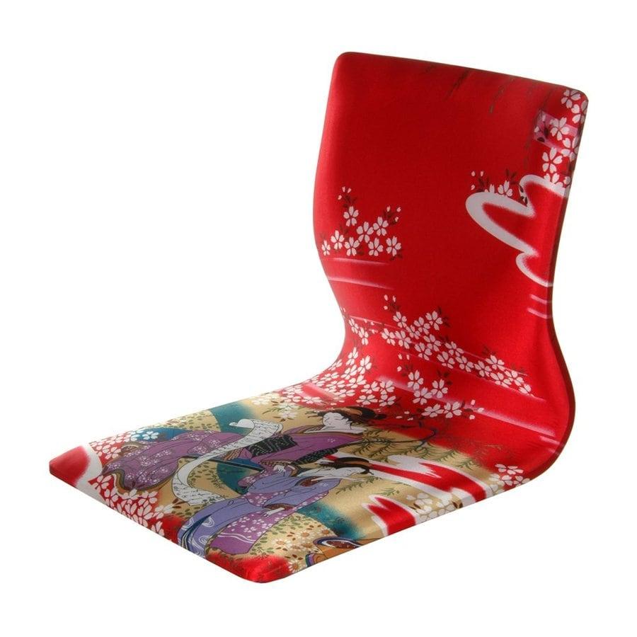Oriental Furniture Tatami Meditation Asian Red Blend