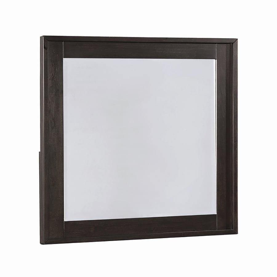 Scott Living Graphite Polished Square Vanity Mirror