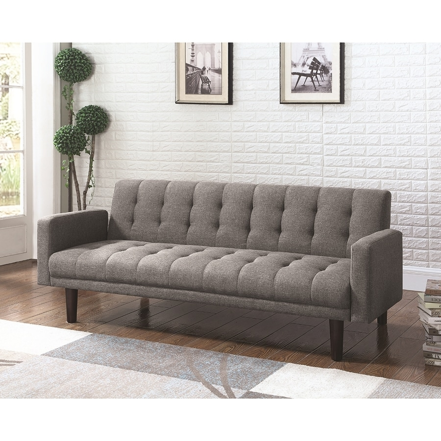 Scott Living Gray Sofa Bed