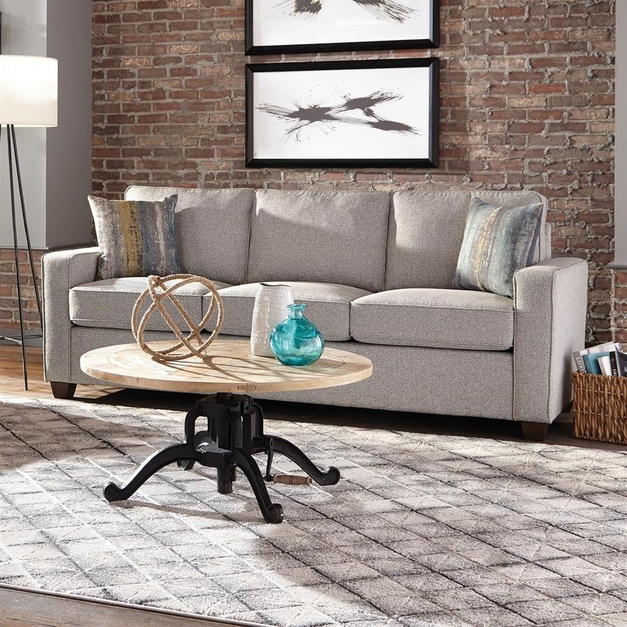 Scott Living Casual Ash Grey Sofa