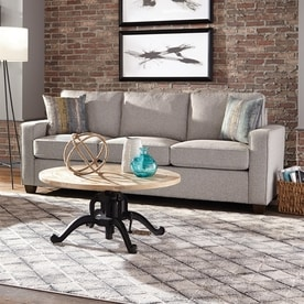 Scott Living Casual Ash Grey Sofa