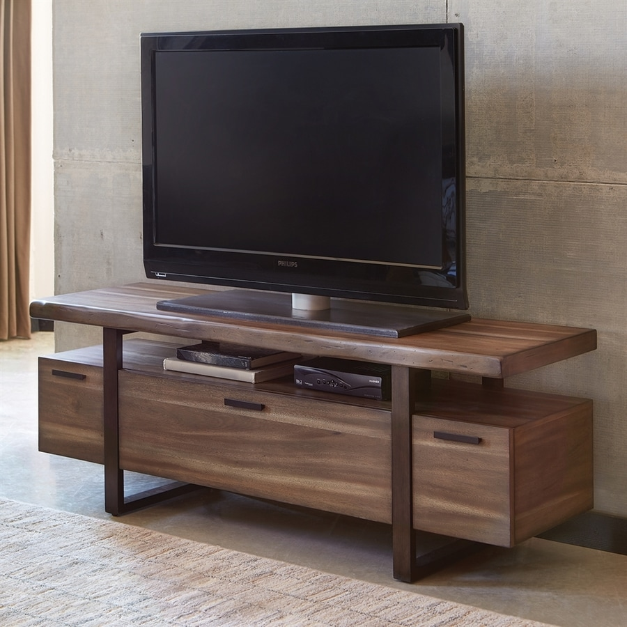 Shop Scott Living Atticus Hazelnut Tv Cabinet At Lowes Com
