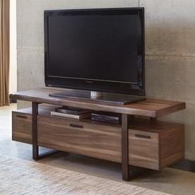 Television Tables Living Room Furniture. Scott Living Atticus Hazelnut TV Cabinet Shop Television Stands at Lowes com