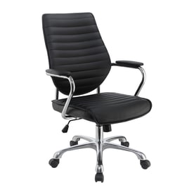 Black Desk Chair shop office chairs at lowes