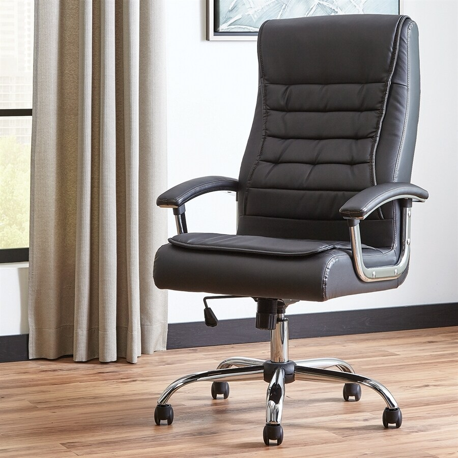 Scott Living Black Contemporary Executive Chair