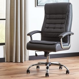 scott living black executive chair