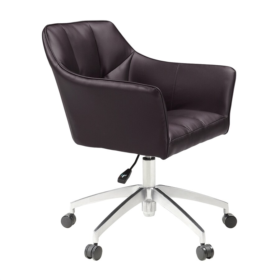 Scott Living Brown Contemporary Desk Chair