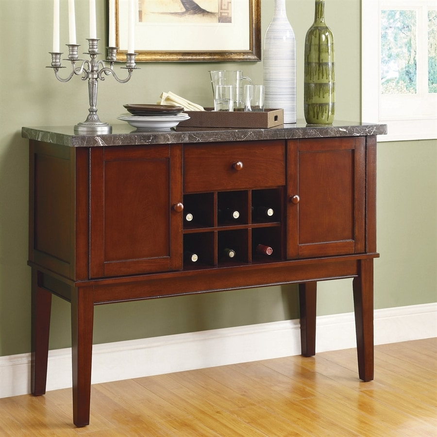 Homelegance Decatur Sideboard with Wine Storage