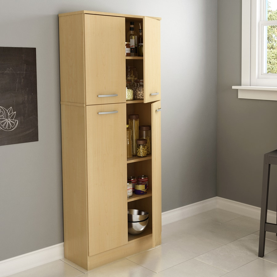 South Shore Furniture Natural Maple Engineered Pantry