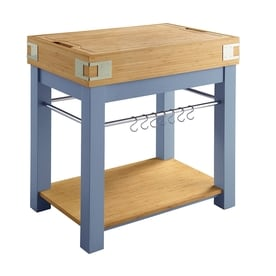 Scott Living Modern Kitchen Island