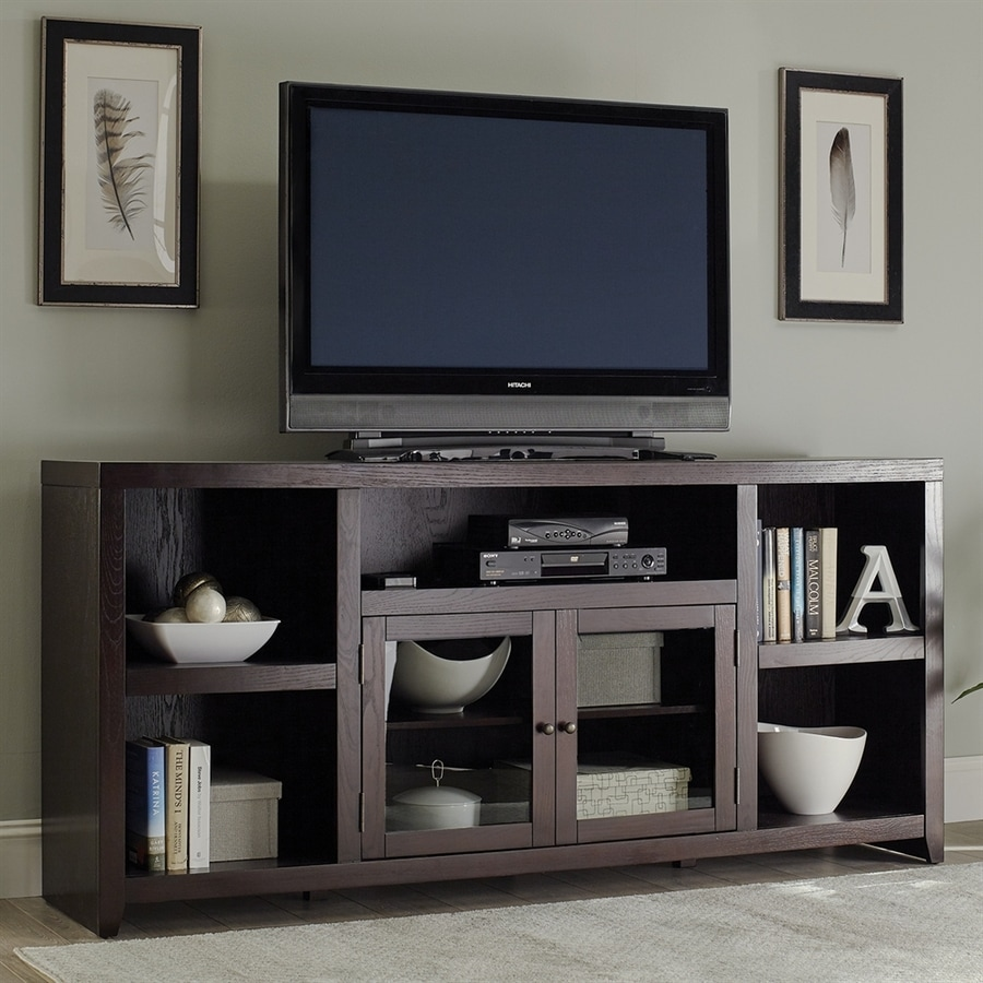 Scott Living Dark Cappuccino TV Cabinet Shop Television Stands at Lowes com