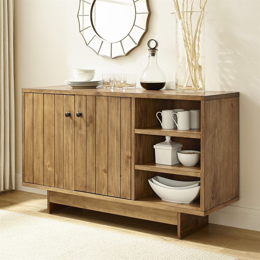 Crosley Furniture Roots Natural Sideboard