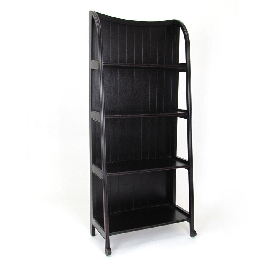 Wayborn Furniture Antique Black Etagere