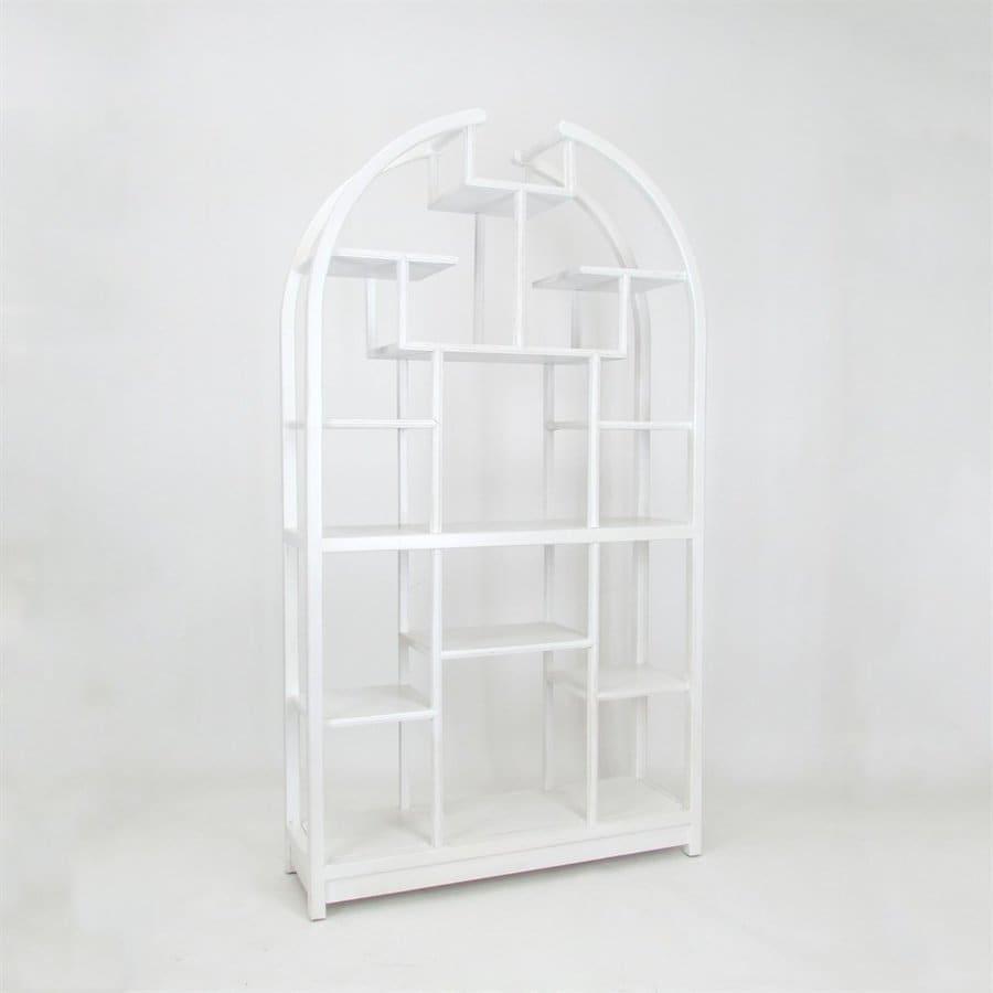 Wayborn Furniture Whitewash Etagere