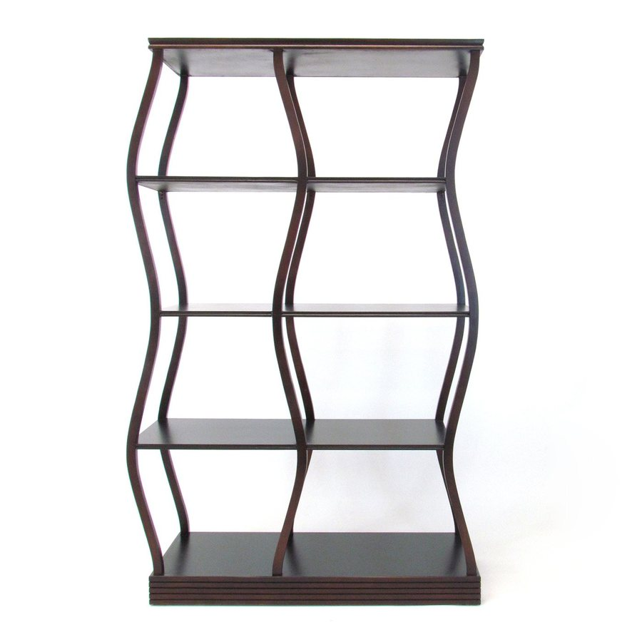 Wayborn Furniture Riaze Brown Birch Etagere
