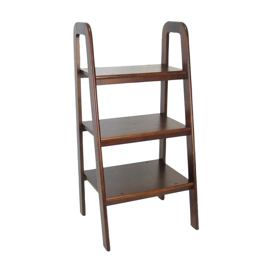 Wayborn Furniture Brown Birch Etagere