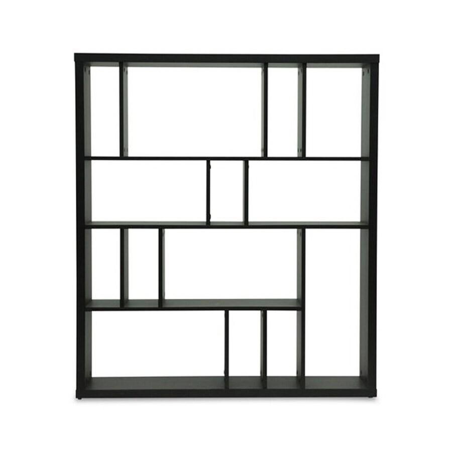 Baxton Studio Danett Espresso Composite 3-Shelf Bookcase