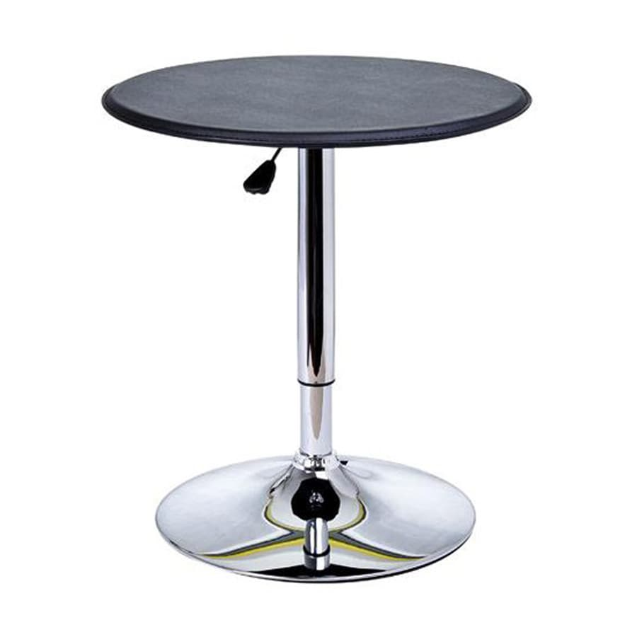 HomCom Round Extending Dining Table
