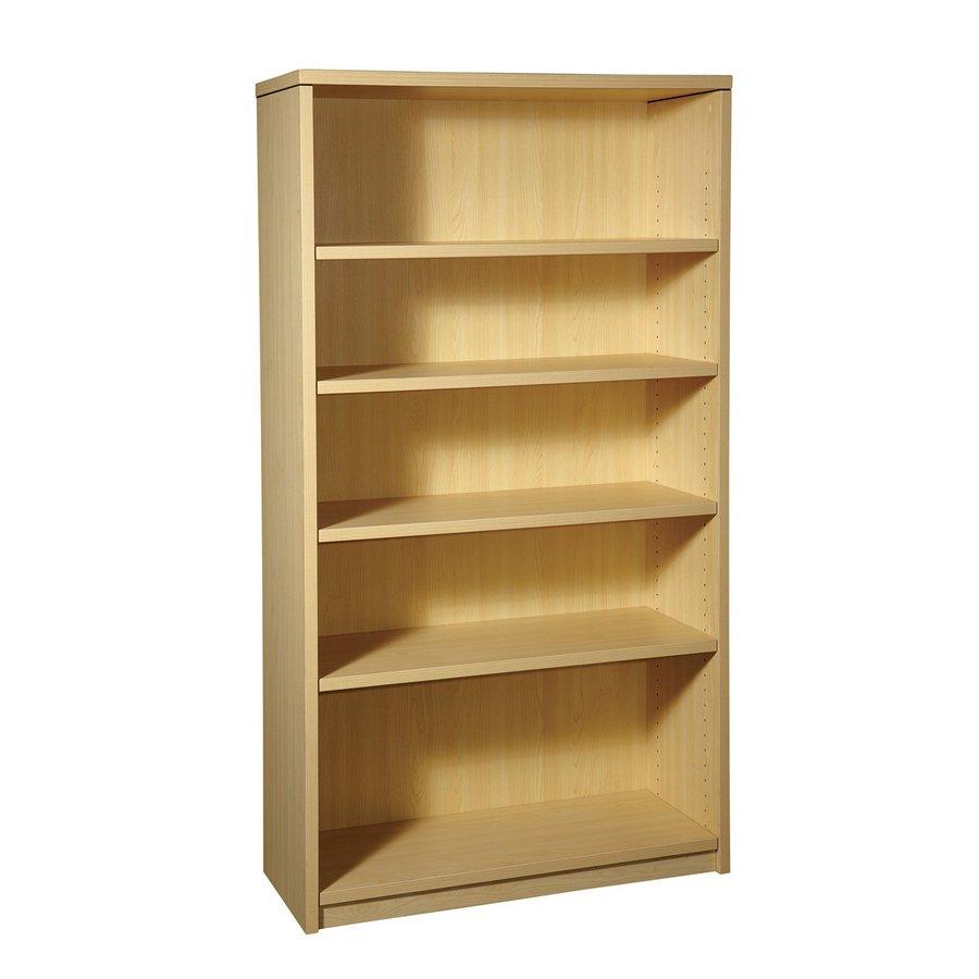 Office Star Napa Maple Composite 5-Shelf Bookcase