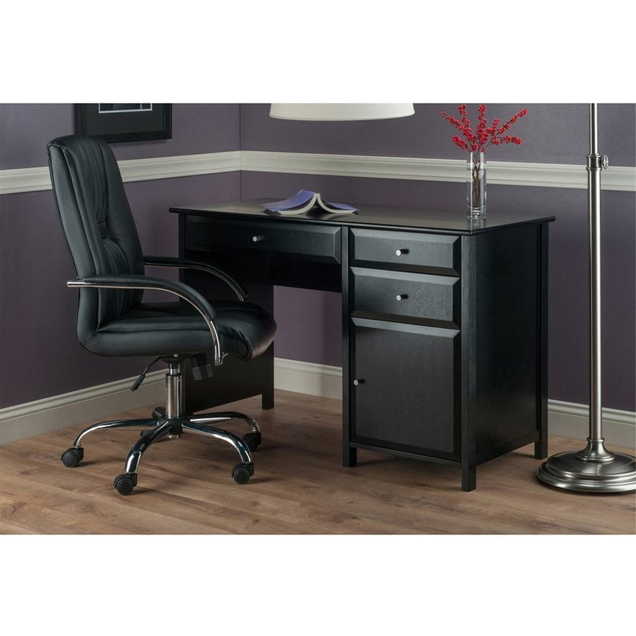 Winsome Wood Delta Black Writing Desk