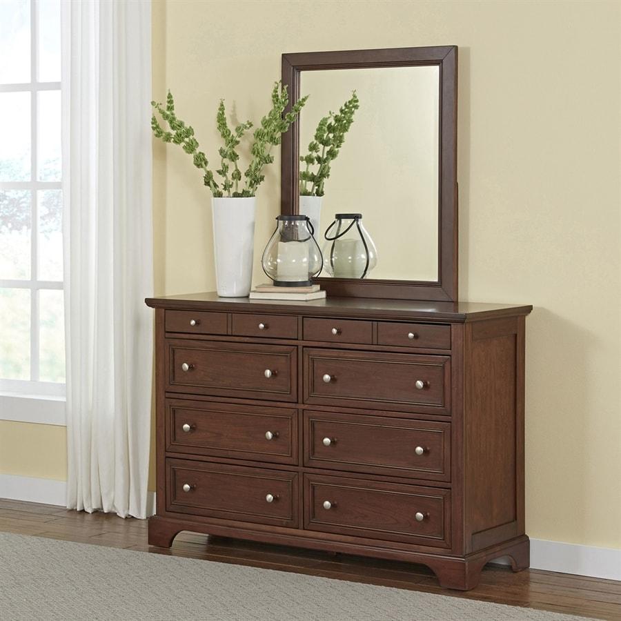 Home Styles Chesapeake Cherry 8-Drawer Double Dresser
