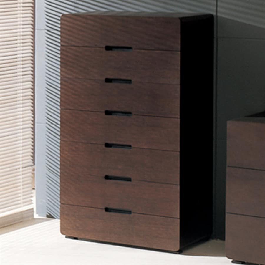 Beverly Hills Furniture Cosmo Wenge 7-Drawer Chest