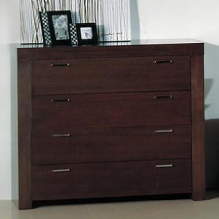 Beverly Hills Furniture Traxler Dark Walnut 3-Drawer Dresser