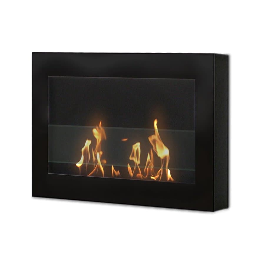 shop anywhere fireplace 27 5 in single burner vent free black