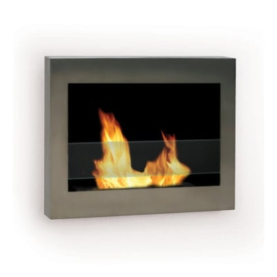 Anywhere Fireplace 27 5 In Single Burner Stainless Steel Gas