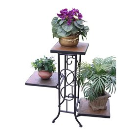 4d concepts 224in antique tuscany rectangular slate plant stand