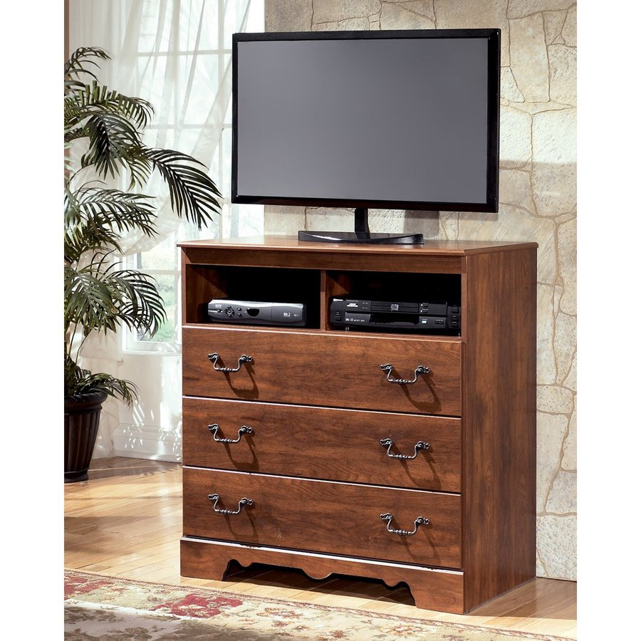 Signature Design by Ashley Timberline Warm Brown TV Cabinet