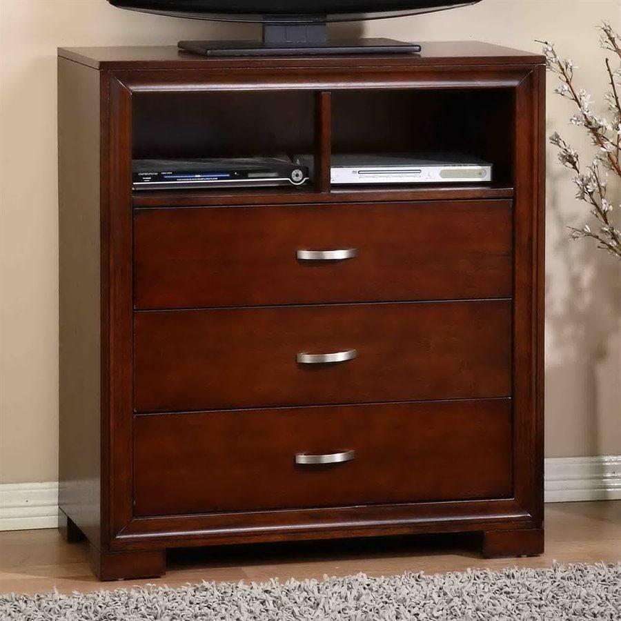 Picket House Furnishings Ranier Espresso TV Cabinet