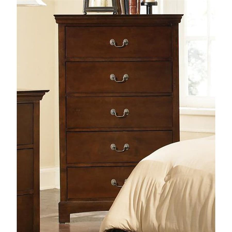 Coaster Fine Furniture Tatiana Espresso 5-Drawer Chest