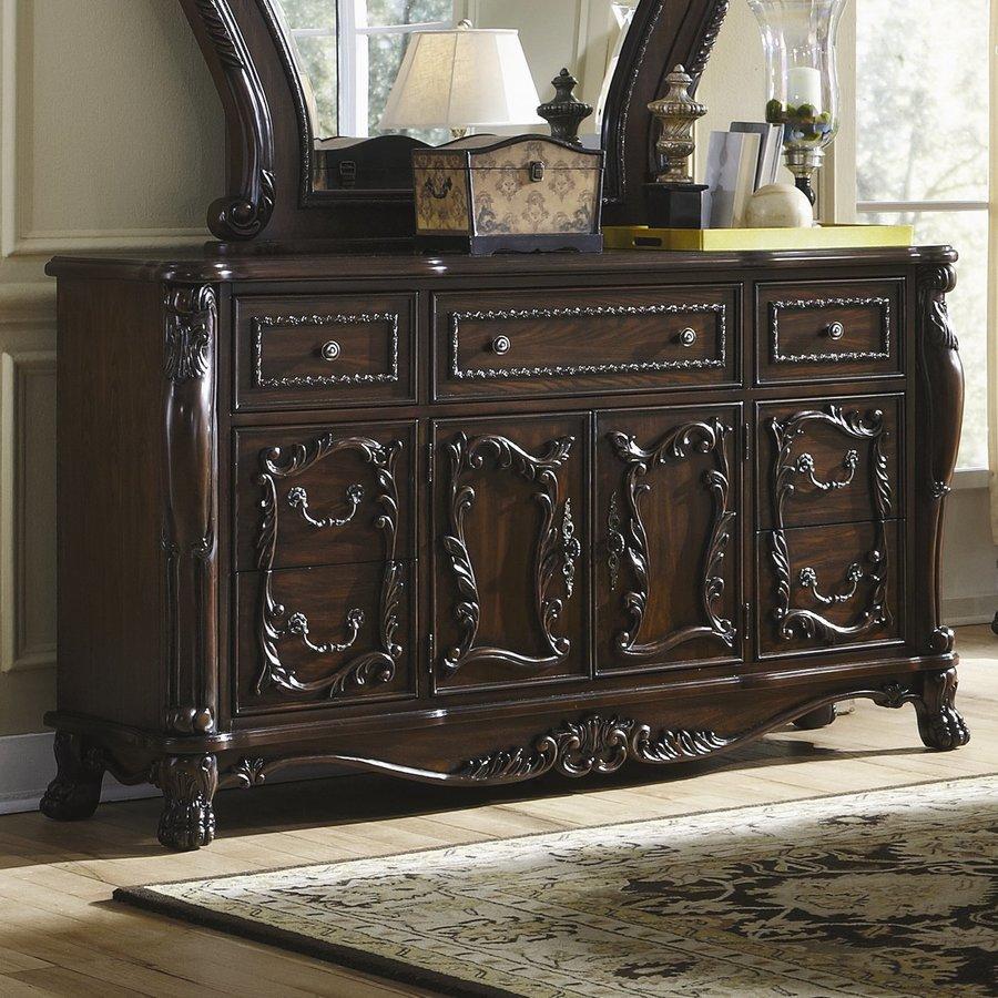 Coaster Fine Furniture Abigail Cherry 7-Drawer Combo Dresser