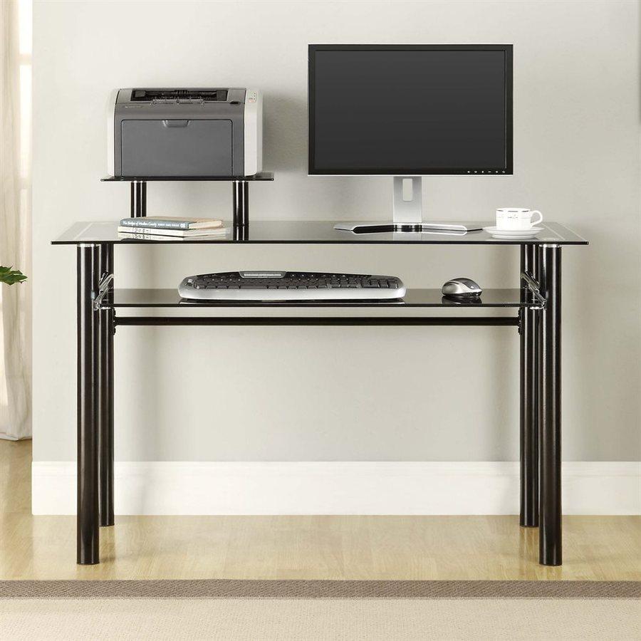 Innovex Janus Contemporary Black Computer Desk