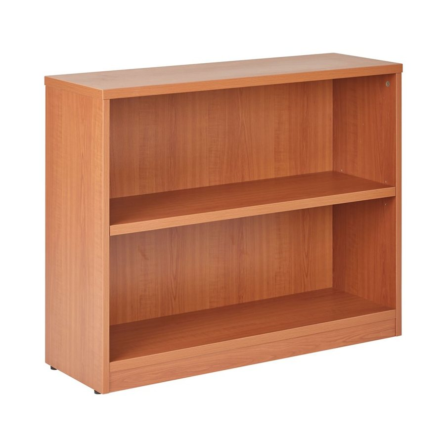 Office Star Cognac Composite 2-Shelf Bookcase