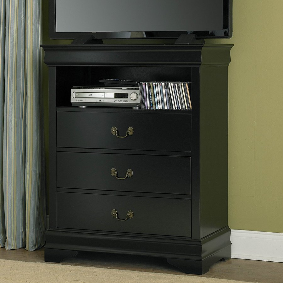 Homelegance Marianne Black TV Cabinet