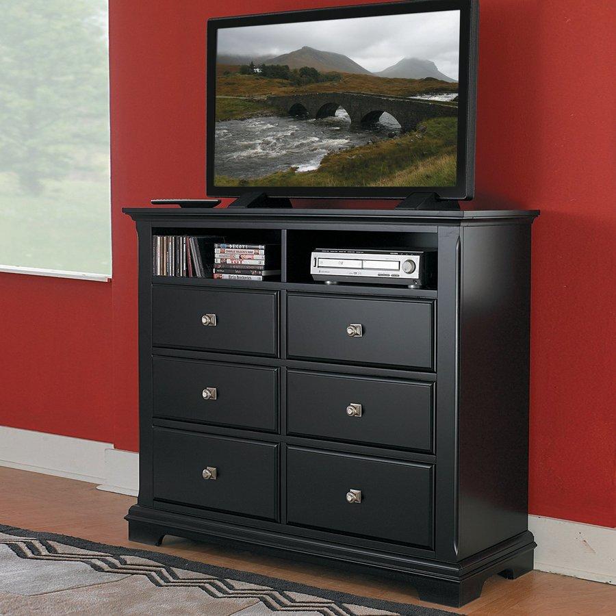 Homelegance Preston Black TV Cabinet