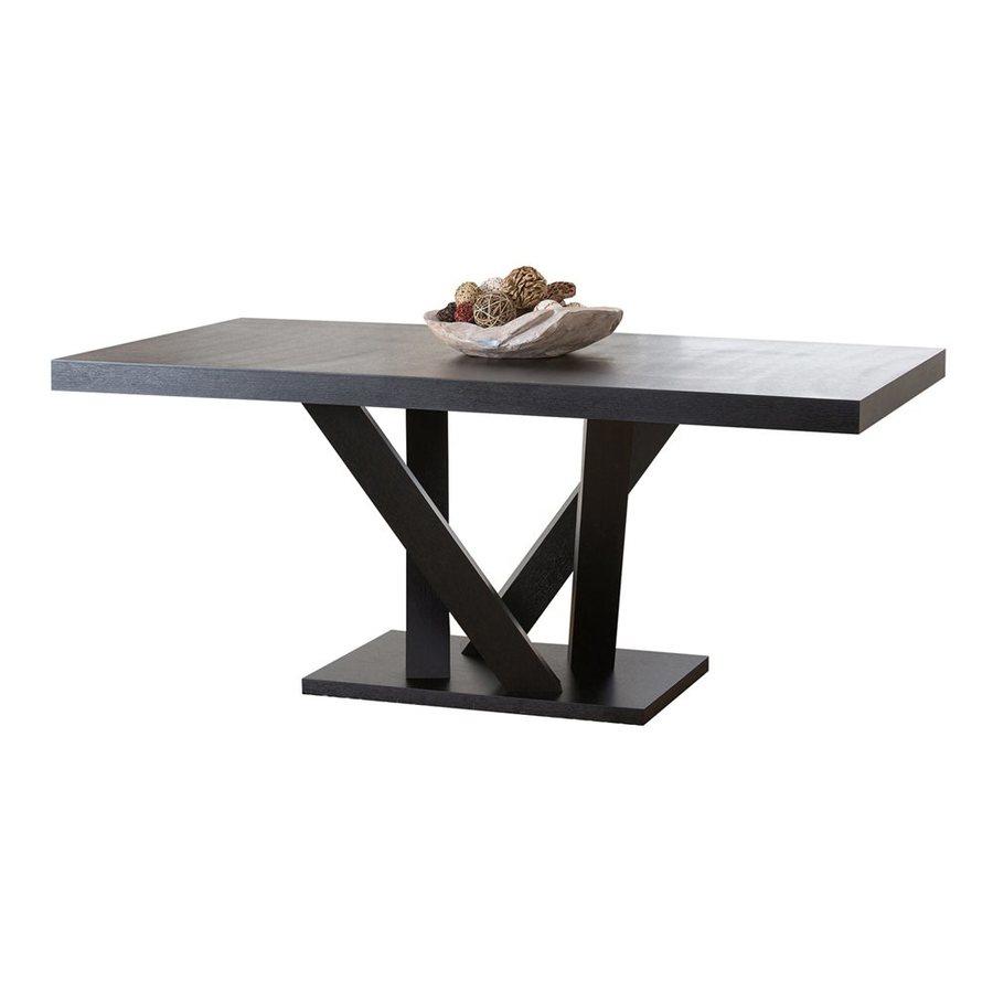 Pacific Loft Celestia Espresso Wood Dining Table